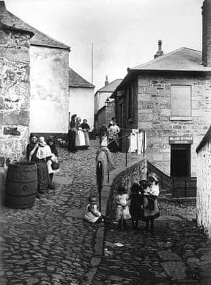 Penzance around 1900 – with the Inland Revenue office in the background