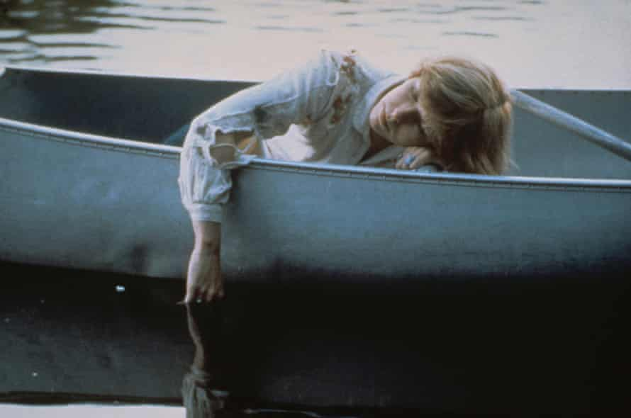 Adrienne King in Friday the 13th