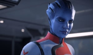 Dr Lexi in Mass Effect, played by Natalie Dormer