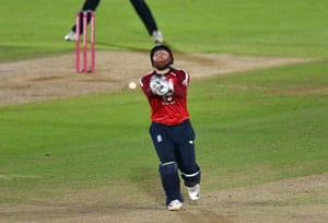 Bairstow drops a catch from Finch.