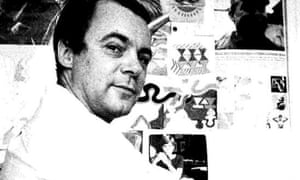 John Wilcock in 1967. Some of his younger contemporaries saw him as the father of the underground press.