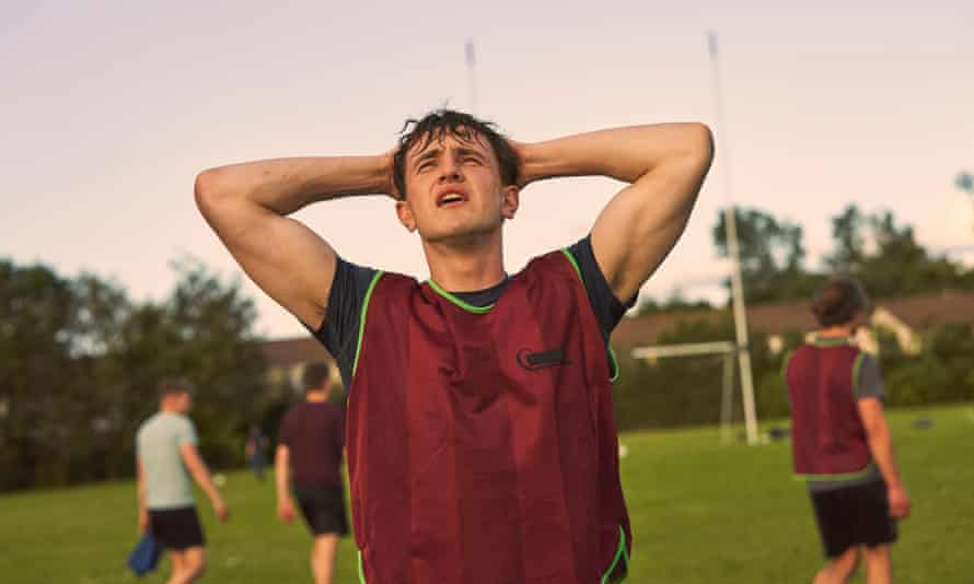 Paul Mescal as Connell, who plays Gaelic football.