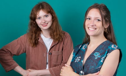 The co-founders of Birdsong, Sophie Slater and Sarah Neville.