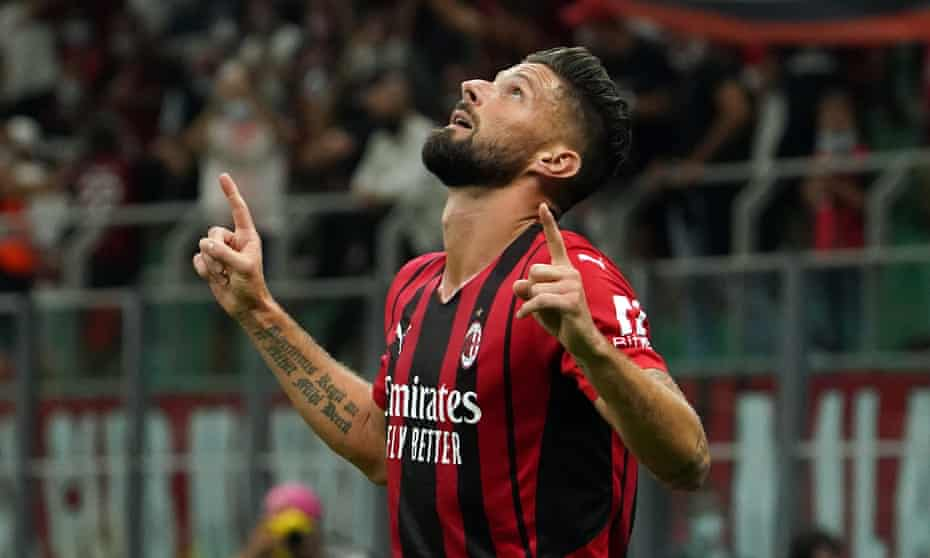 Olivier Giroud: 'I am 100% focused on Milan and being decisive and effective for my club. Let's see what happens.'