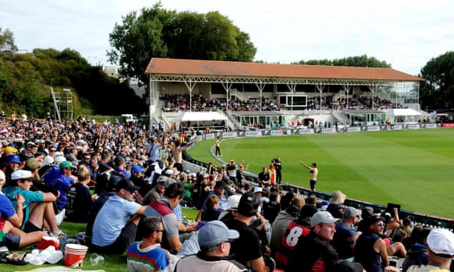 The University of Otago Oval in Dunedin.