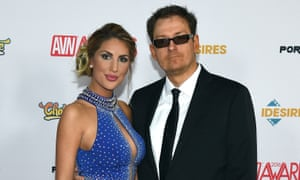 August Ames with her husband Kevin Moore