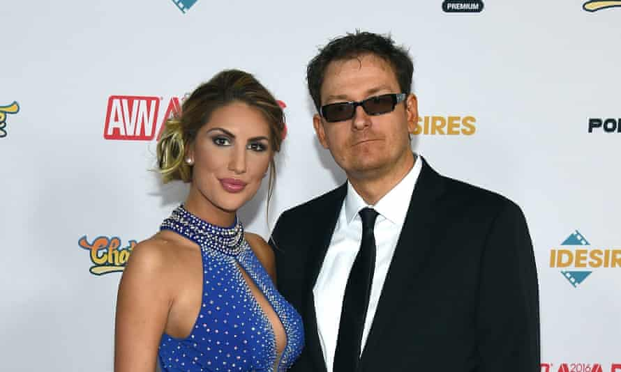 Adult film actress August Ames, subject of The Last Days of August, with husband Kevin Moore.