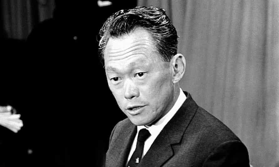 'The best bloody Englishman east of Suez' … Lee Kuan Yew.