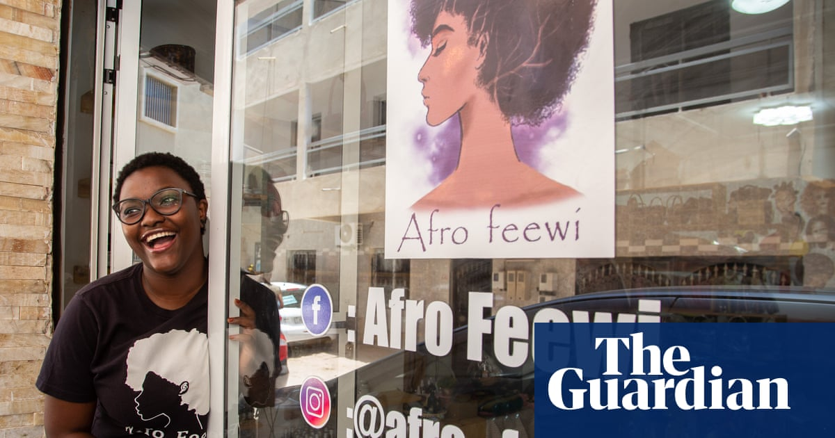 'It's about self-love': the black women busting beauty myths in west Africa