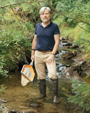 Steve Ormerod visits one of the streams