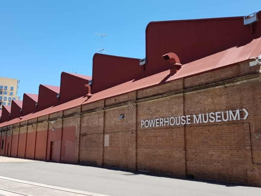 The Powerhouse Museum's historic tram depot, the Harwood building.