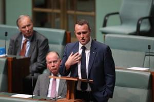 Liberal MP Tim Wilson accuses Bill Shorten of moral posturing.