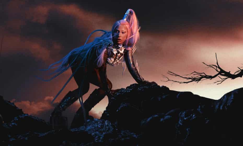 Delving behind the facade ... Lady Gaga