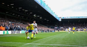 Leeds United's Stuart Dallas.