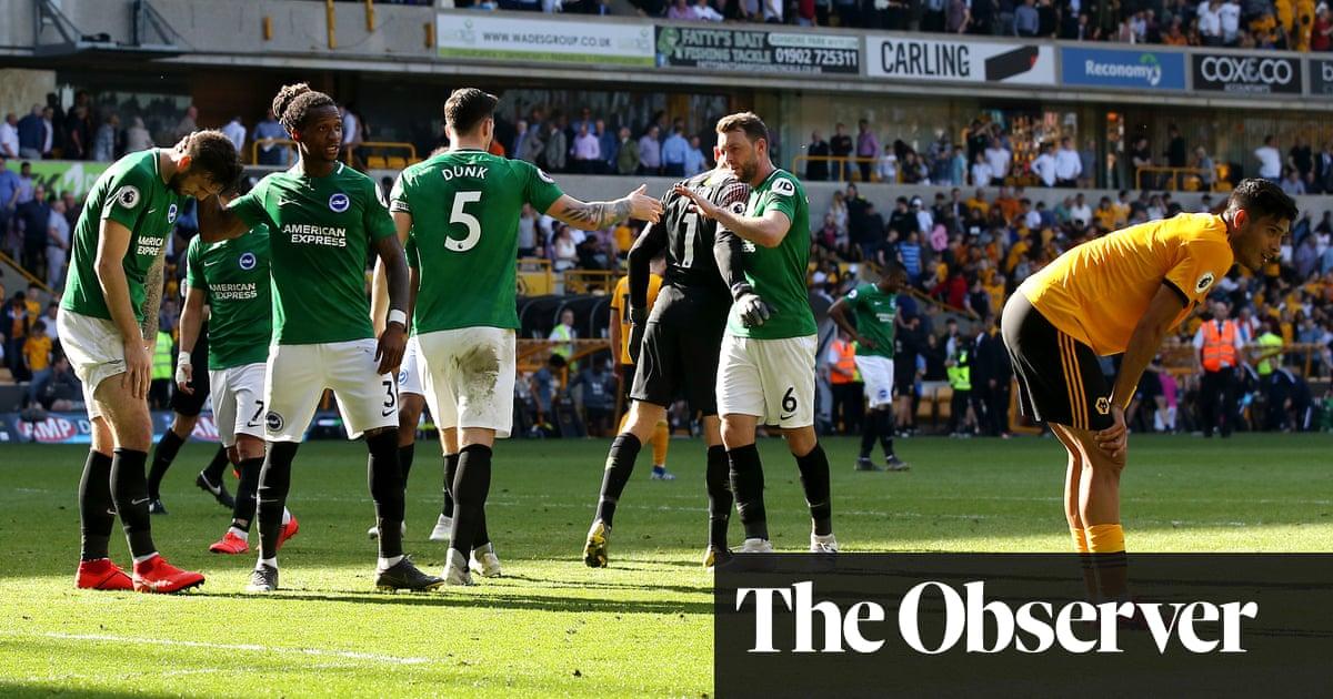 Mat Ryan keeps Wolves at bay as Brighton snaffle precious point