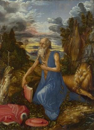 Albrecht Dürer's St Jerome (about 1496)