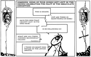 Panel 5: How I did not see Rome with you