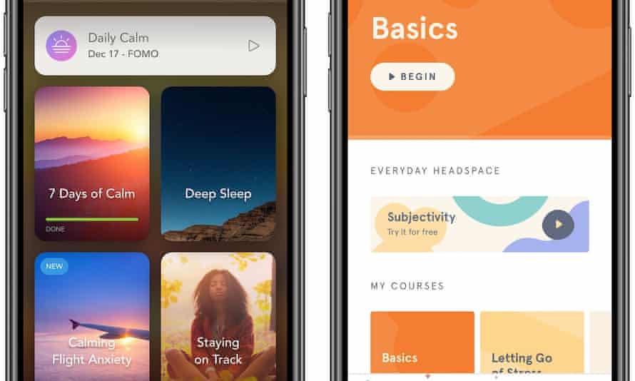 Meditation apps. Headspace's revenue is estimated at $50m a year and the company is valued at $250m.
