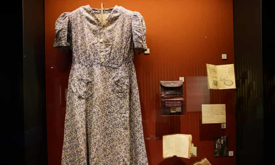 A dress and other items that belonged to Helen Taichner