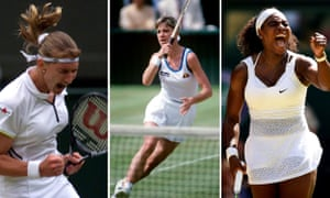 Are Steffi Graf, Chris Evert or Serena Williams your pick?