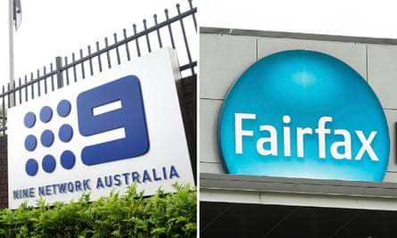 A composite of the Nine Network Australia and Fairfax Media logos