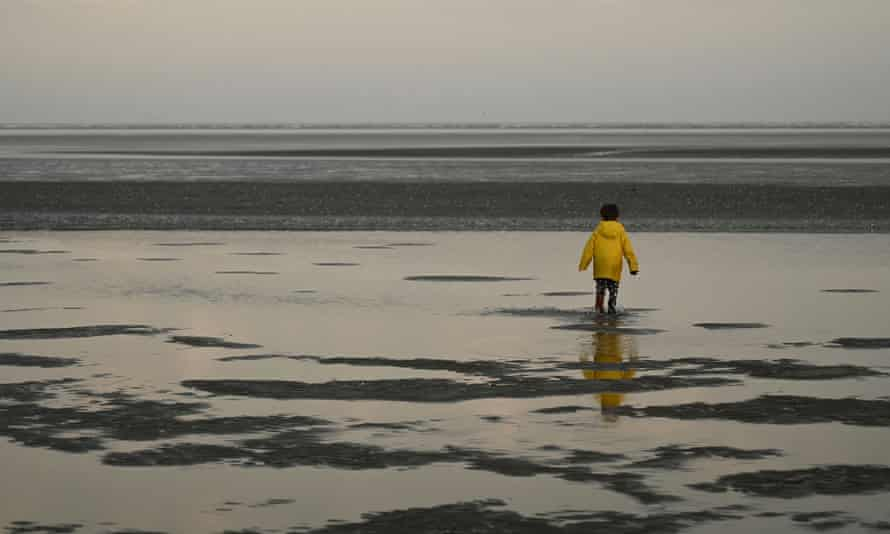 'Sonya leaves her son on Sandymount strand while she takes a swim.'