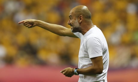 Pep Guardiola slams criticism Manchester City is in China to 'win wallets' – video