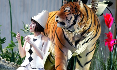 Berg's Lulu in a 2002 production for English National Opera.