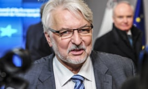 Witold Waszczykowski, the Polish foreign minister