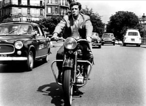 Jean-Paul Belmondo in the hit action film That Man from Rio in 1964