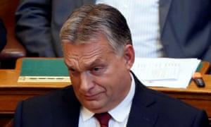 Viktor Orbán said Hungary will resist proposal for EU border force