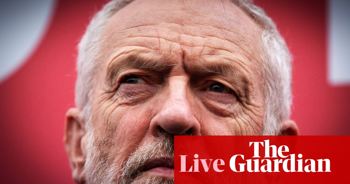 General election 2019: Corbyn to launch Labour's 'manifesto of hope' – live news | Politics