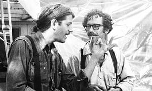 'It was a statement of a different kind of community': Peter Coyote (left) of the Diggers.