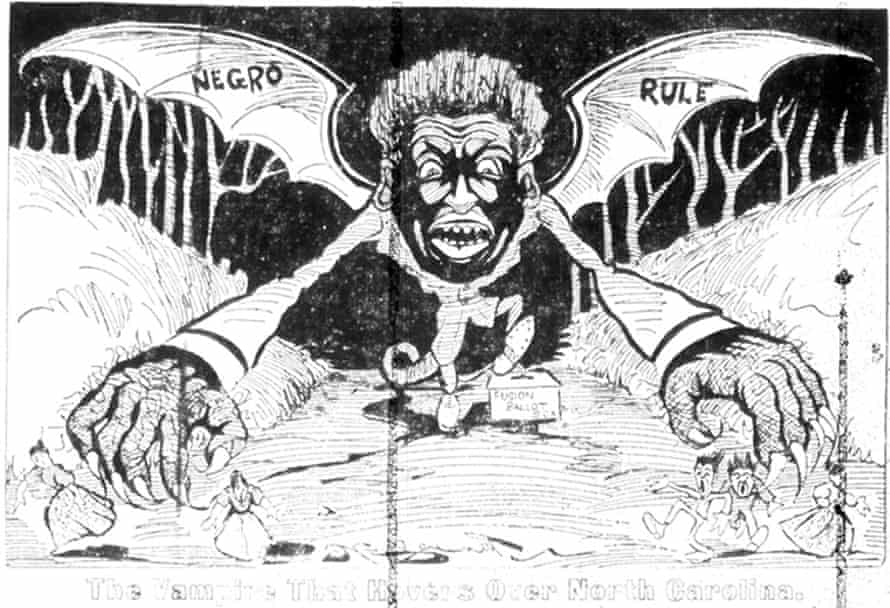 'The Vampire that Hovers Over North Carolina (Negro Rule),' News and Observer, September 27, 1898.