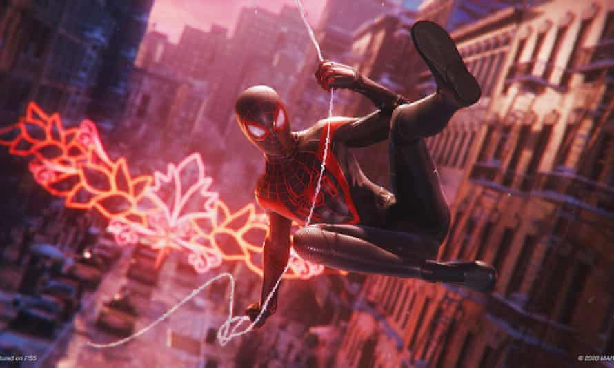 Ray of light … Spider-Man: Miles Morales.