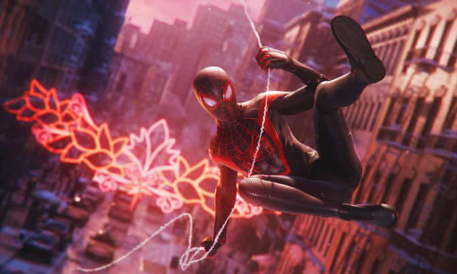 Power play … Marvel's Spider-Man: Miles Morales.