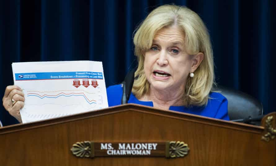 Abdelhamid has a formidable adversary in Carolyn Maloney, who is chair of the House oversight committee.