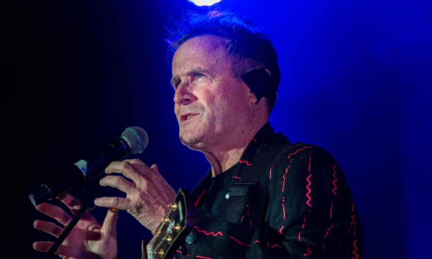 Johnny Clegg performing in Cape Town in 2017.