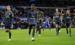 Demarai Gray reveals his tribute to Vichai Srivaddhanaprabha after scoring for Leicester.