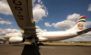 An Etihad plane