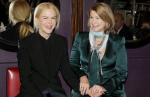 'She's very warm, and loyal': Kidman with Sue Brierley.