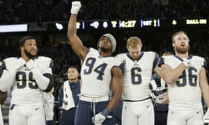 Protests continue in the NFL despite the objection of many team owners