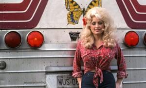 Dolly Parton in 1977.