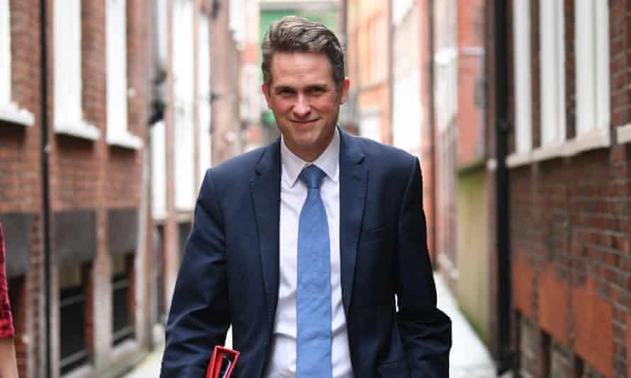 The education secretary, Gavin Williamson, has not yet announced plans for September regarding how schools should handle Covid.