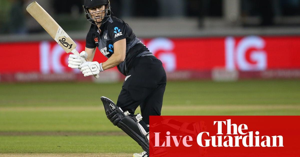 England v New Zealand: third women's T20 international – live!