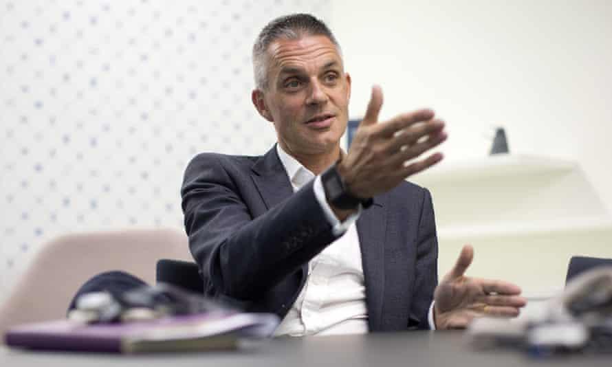 The BBC's new director general, Tim Davie