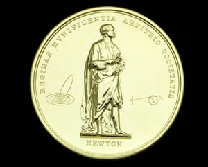 Reverse of the Royal Society's Royal Medal