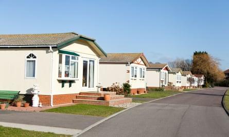 Residential mobile park home