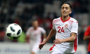 Saîf-Eddine Khaoui, who is playing for Troyes on loan from Marseille, made a positive impact against Costa Rica.