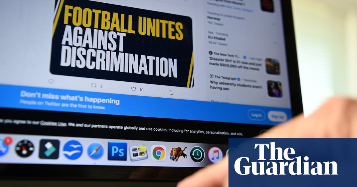 Most racist abusers of footballers are still active on Twitter, PFA finds